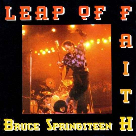 Coverafbeelding Leap Of Faith - Bruce Springsteen