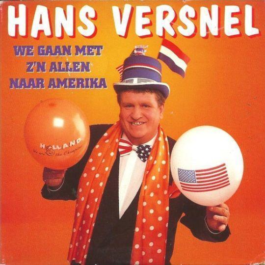 Coverafbeelding Hans Versnel - We Gaan Met Z'n Allen Naar Amerika