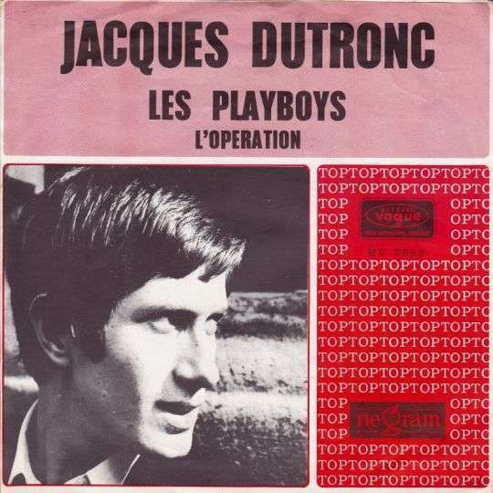 Coverafbeelding Les Playboys - Jacques Dutronc
