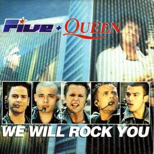 Coverafbeelding We Will Rock You - Five + Queen