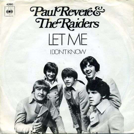 Coverafbeelding Paul Revere & The Raiders - Let Me