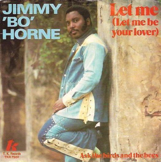 """Coverafbeelding Let Me (Let Me Be Your Lover) - Jimmy """"bo"""" Horne"""