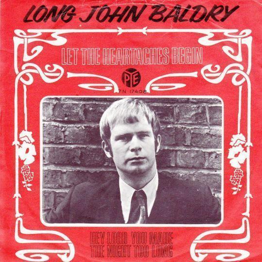 Coverafbeelding Let The Heartaches Begin - Long John Baldry