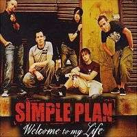 Coverafbeelding Welcome To My Life - Simple Plan