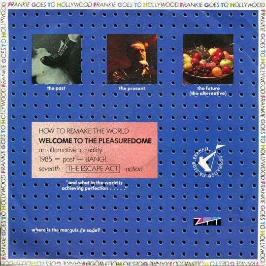 Coverafbeelding Welcome To The Pleasuredome - Frankie Goes To Hollywood