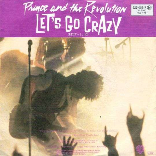 Coverafbeelding Prince and The Revolution - Let's Go Crazy