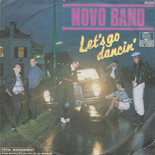 Coverafbeelding Let's Go Dancin' - Novo Band