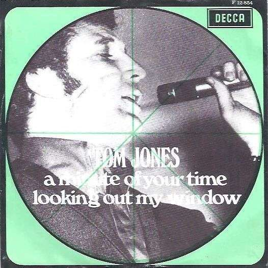 Coverafbeelding A Minute Of Your Time - Tom Jones