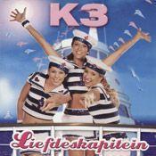 Coverafbeelding Liefdeskapitein - K3