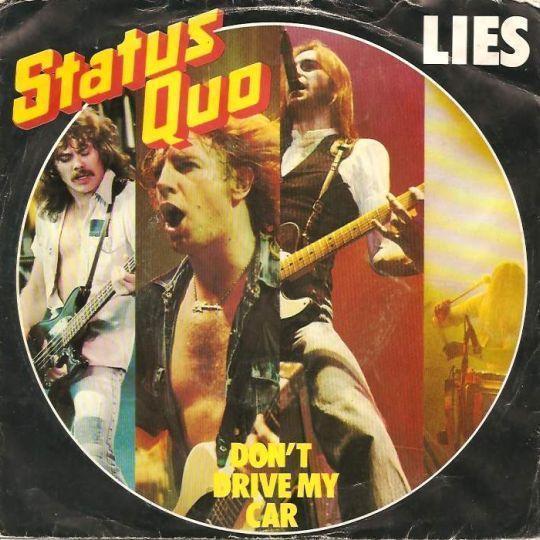 Coverafbeelding Lies - Status Quo