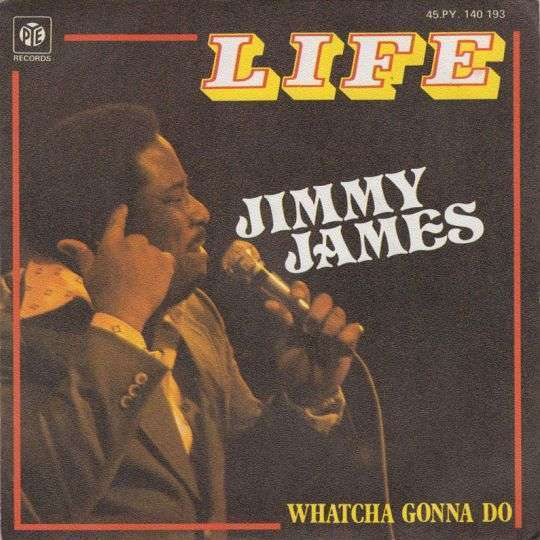 Coverafbeelding Jimmy James - Life