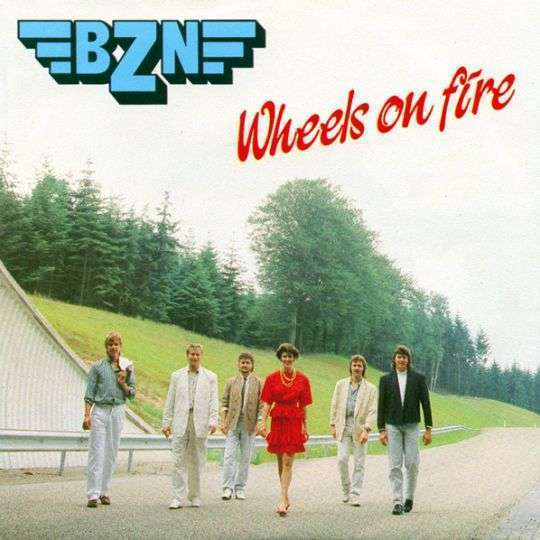 Coverafbeelding Wheels On Fire - Bzn