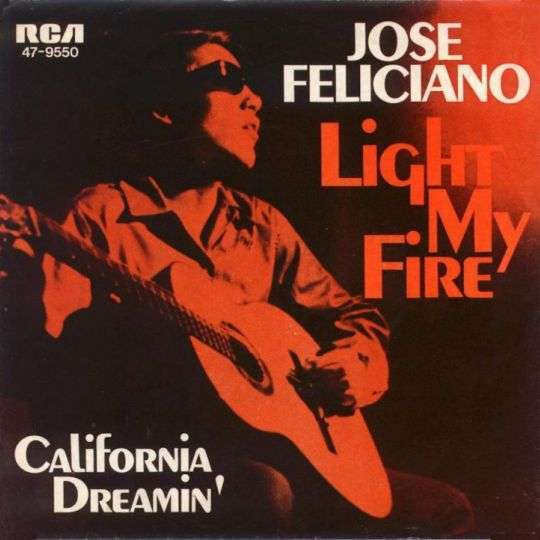 Coverafbeelding Light My Fire - Jose Feliciano