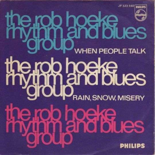 Coverafbeelding When People Talk - The Rob Hoeke Rhythm And Blues Group
