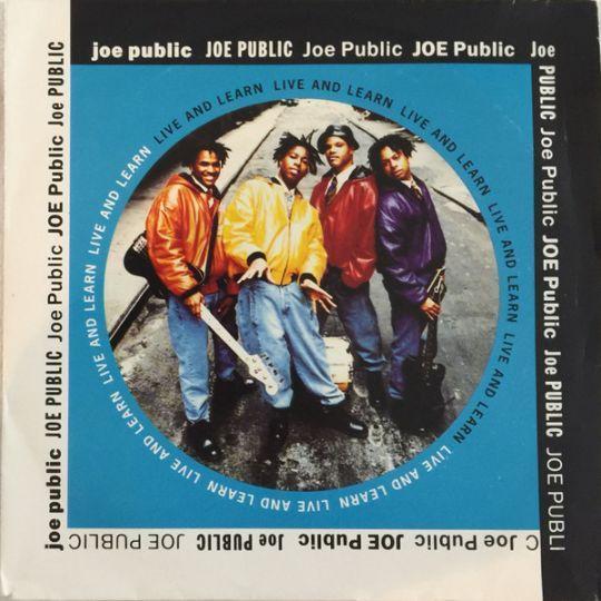 Coverafbeelding Joe Public - Live And Learn