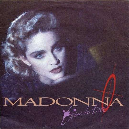 Coverafbeelding Live To Tell - Madonna
