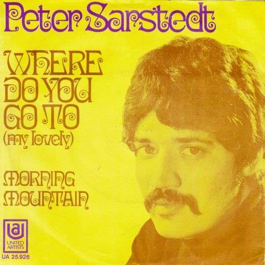 Coverafbeelding Peter Sarstedt - Where Do You Go To (My Lovely)