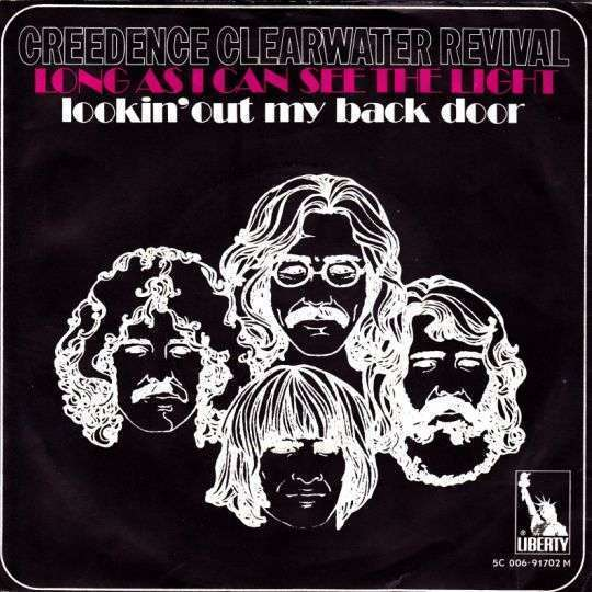 Coverafbeelding Creedence Clearwater Revival - Long As I Can See The Light