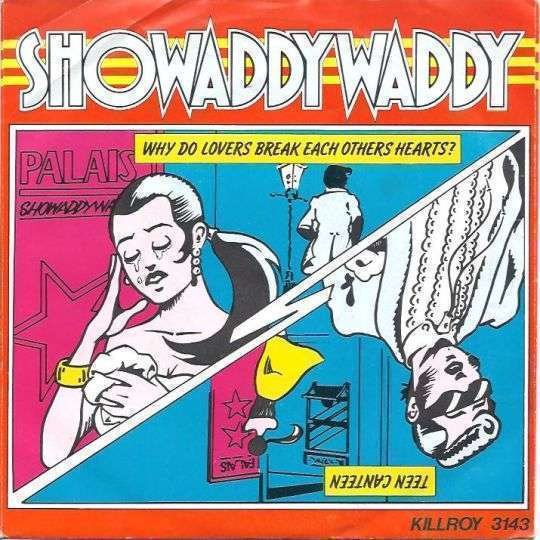 Coverafbeelding Why Do Lovers Break Each Others Hearts? - Showaddywaddy