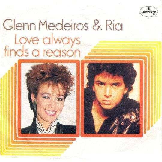 Coverafbeelding Glenn Medeiros & Ria - Love Always Finds A Reason