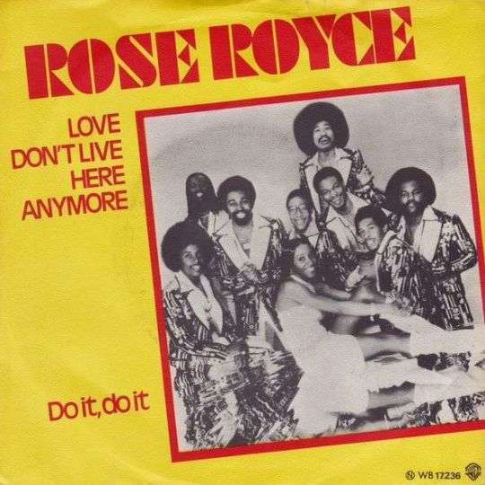 Coverafbeelding Love Don't Live Here Anymore - Rose Royce