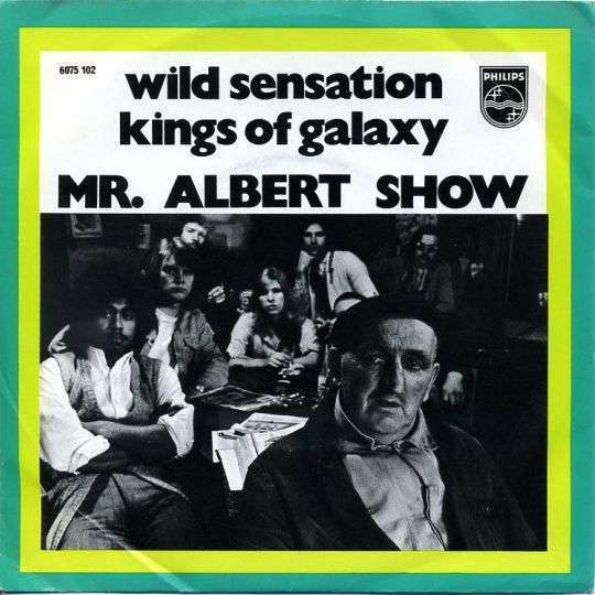 Coverafbeelding Mr. Albert Show - Wild Sensation