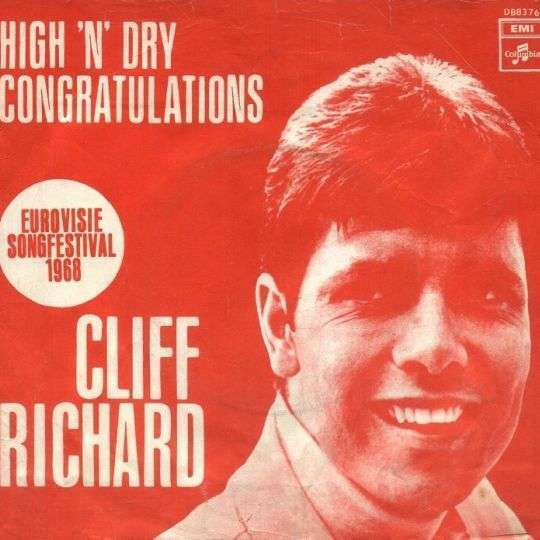 Coverafbeelding Congratulations - Cliff Richard