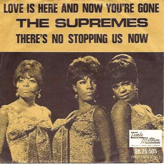 Coverafbeelding Love Is Here And Now You're Gone - The Supremes