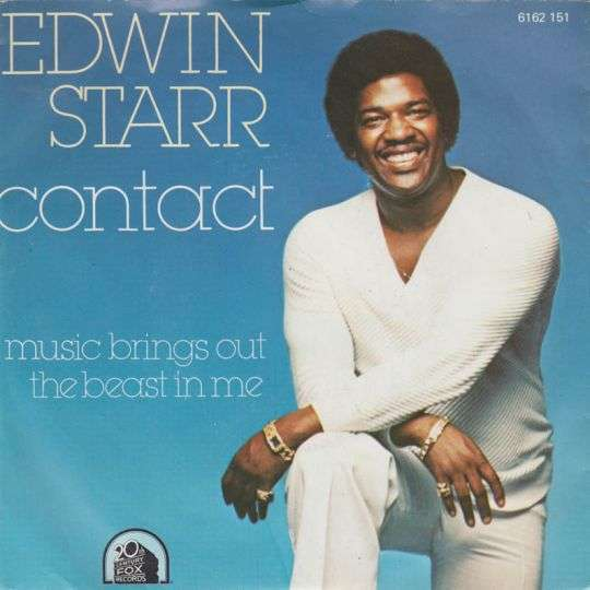 Coverafbeelding Contact - Edwin Starr