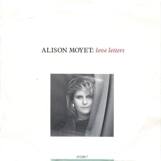 Coverafbeelding Love Letters - Alison Moyet