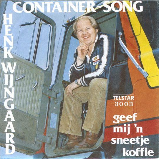 Coverafbeelding Container-Song - Henk Wijngaard