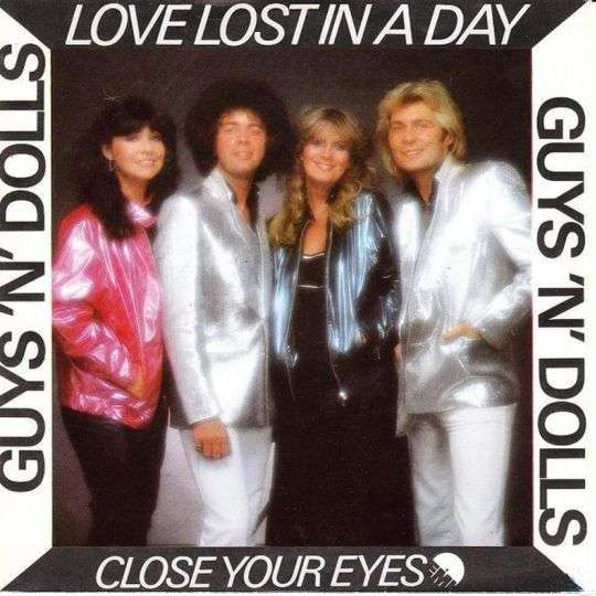 Coverafbeelding Love Lost In A Day - Guys 'n' Dolls