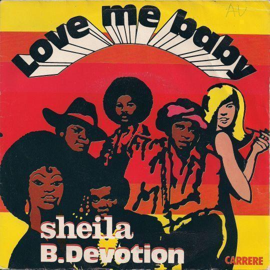 Coverafbeelding Love Me Baby - Sheila B. Devotion