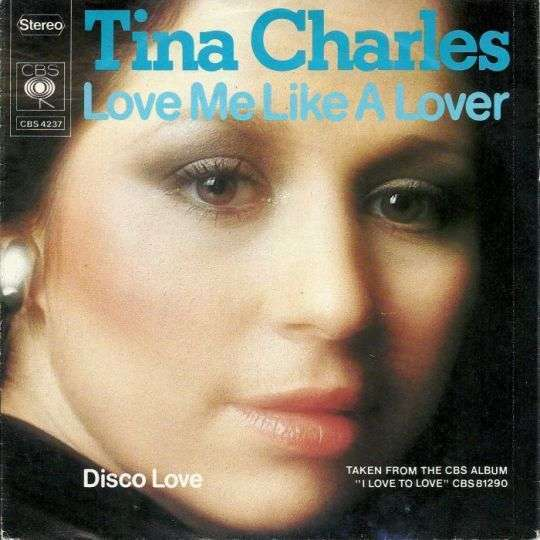 Coverafbeelding Tina Charles - Love Me Like A Lover