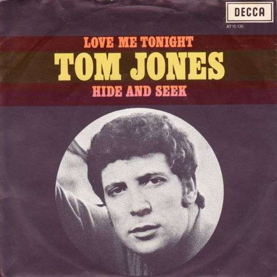 Coverafbeelding Love Me Tonight - Tom Jones