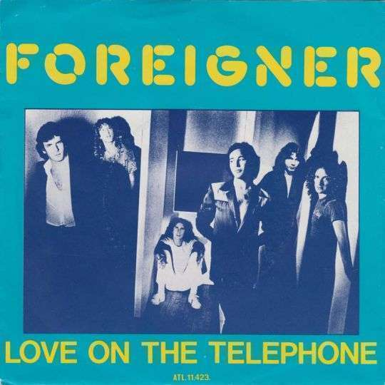 Coverafbeelding Love On The Telephone - Foreigner