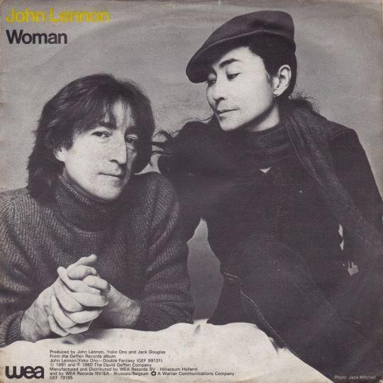 Coverafbeelding Woman - John Lennon