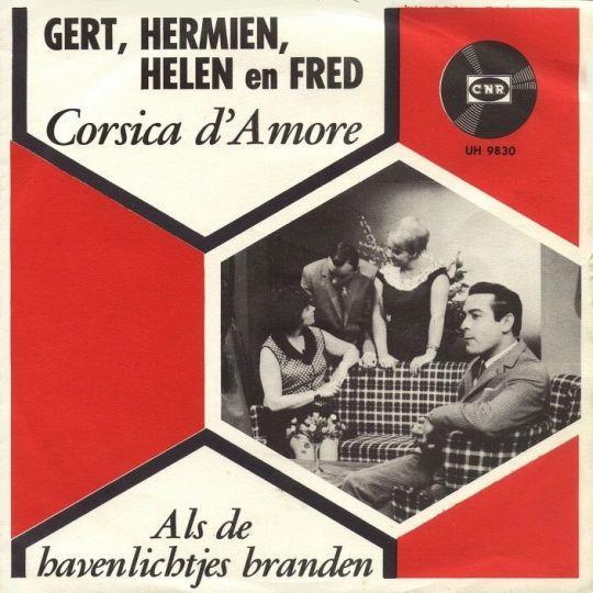 Coverafbeelding Corsica D'amore - Gert, Hermien, Helen En Fred