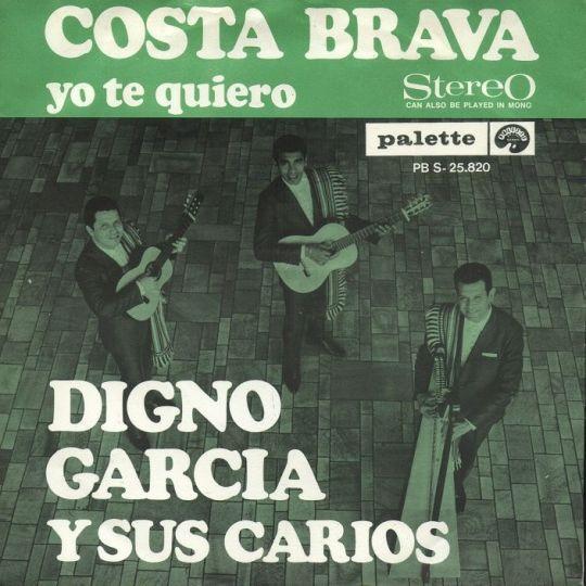 Coverafbeelding John Lamers / Digno Garcia y Sus Carios - Costa Brava