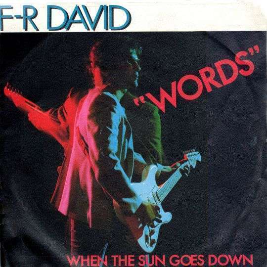 Coverafbeelding F-R David - Words