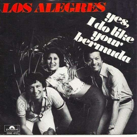 Coverafbeelding Yes, I Do Like Your Bermuda - Los Alegres