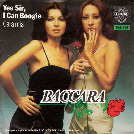 Coverafbeelding Baccara - Yes Sir, I Can Boogie
