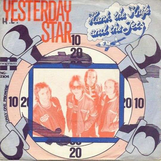 Coverafbeelding Hank The Knife and The Jets - Yesterday Star