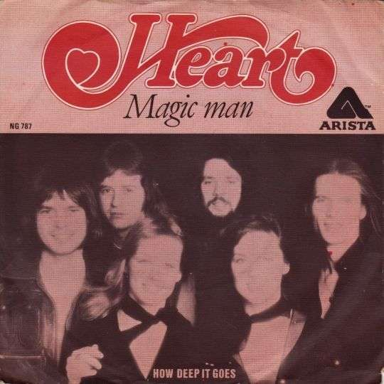 Coverafbeelding Magic Man - Heart ((Usa))