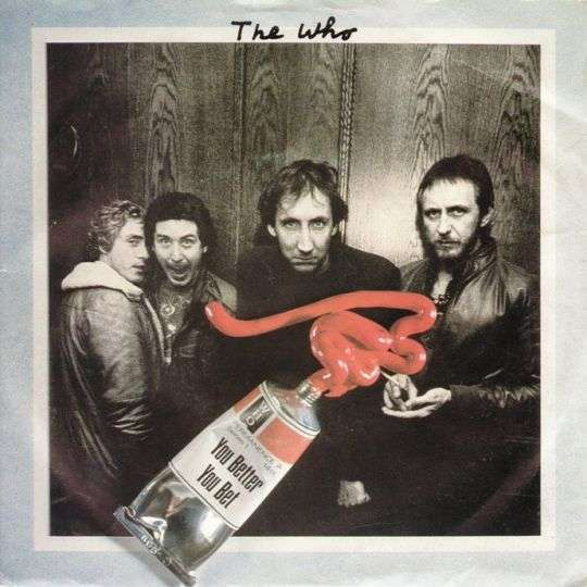 Coverafbeelding You Better You Bet - The Who
