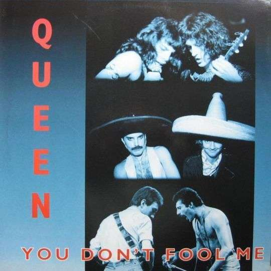 Coverafbeelding You Don't Fool Me - Queen