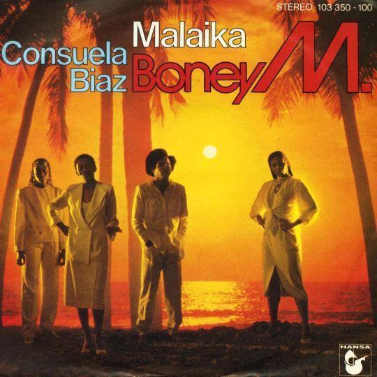 Coverafbeelding Malaika - Boney M.