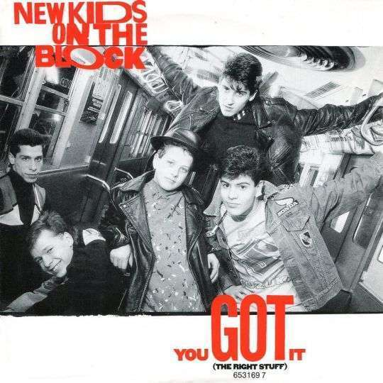 Coverafbeelding New Kids On The Block - You Got It (The Right Stuff)