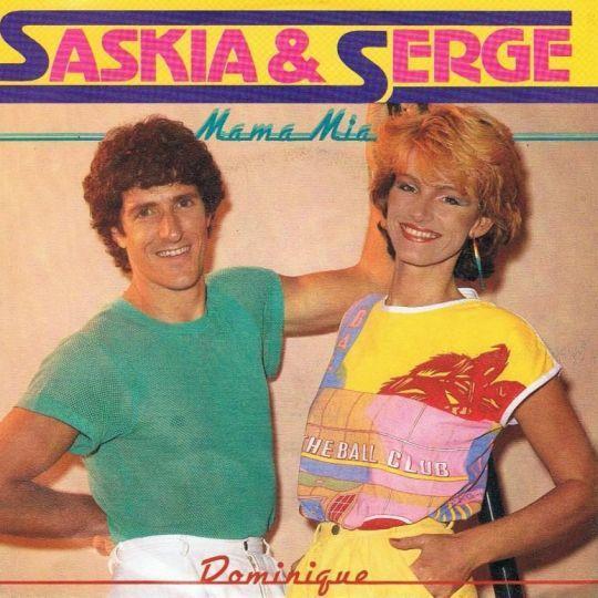 Coverafbeelding Mama Mia - Saskia & Serge