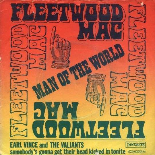 Coverafbeelding Man Of The World - Fleetwood Mac